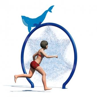 Big Blue Hoop