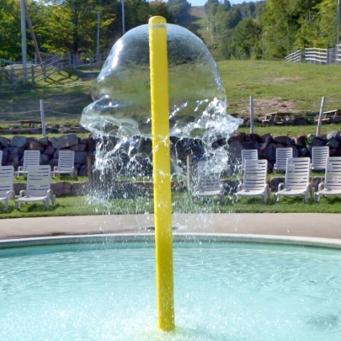Grande cloche d'eau