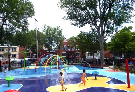 Parc Bélair, Arr. Villeray-St-Michel, Montréal, Qc