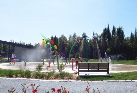 Parc Colonial, Victoriaville, Qc