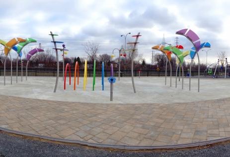 Parc Dollard-St-Laurent, Arr. Lasalle, Montréal, Qc